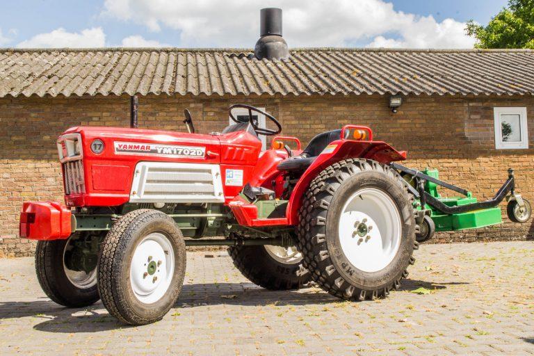 Rode Yanmar tractor